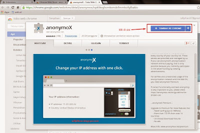 Cara Membuka Internet Positif Dengan Menggunakan Google Chrome