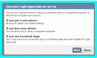 Tips avoid facebook hacking