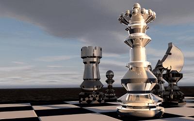puisi pertarungan catur.