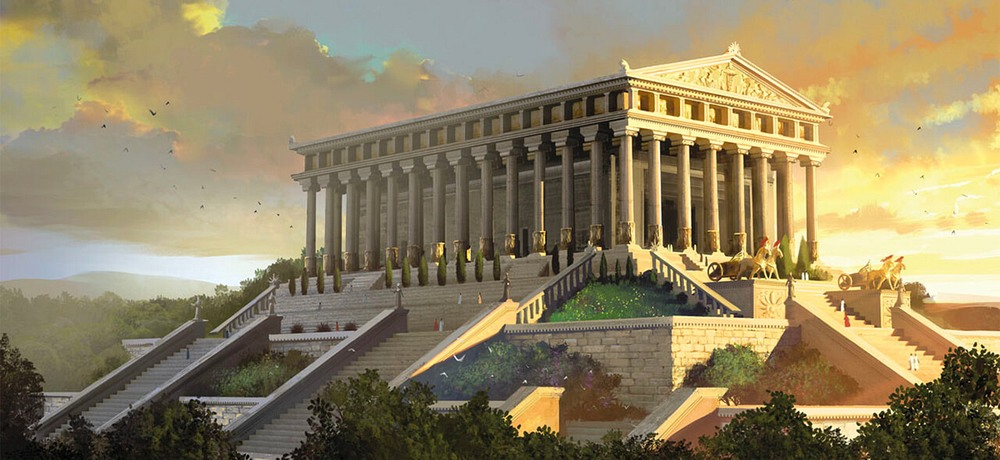 Temple of Artemis illustration