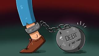 debt stuck