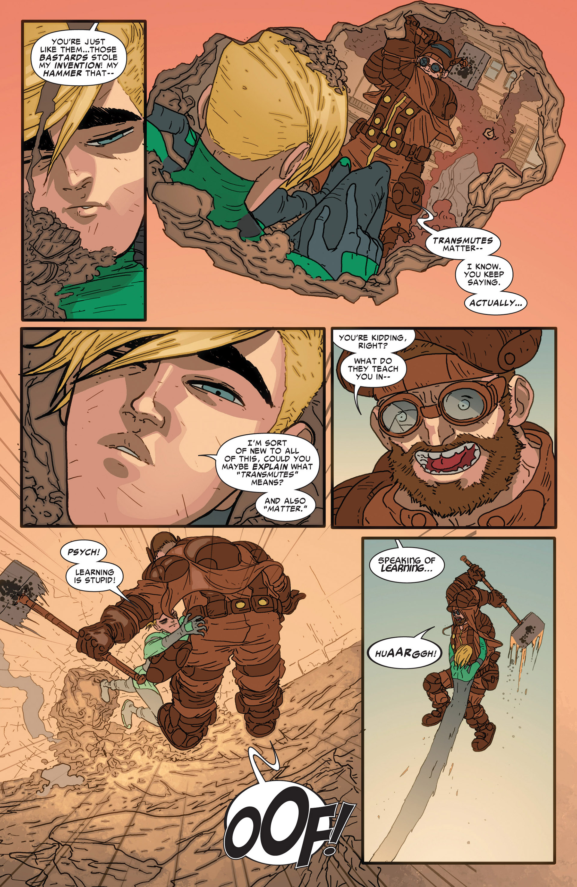 Read online Alpha - Big Time comic -  Issue #4 - 5