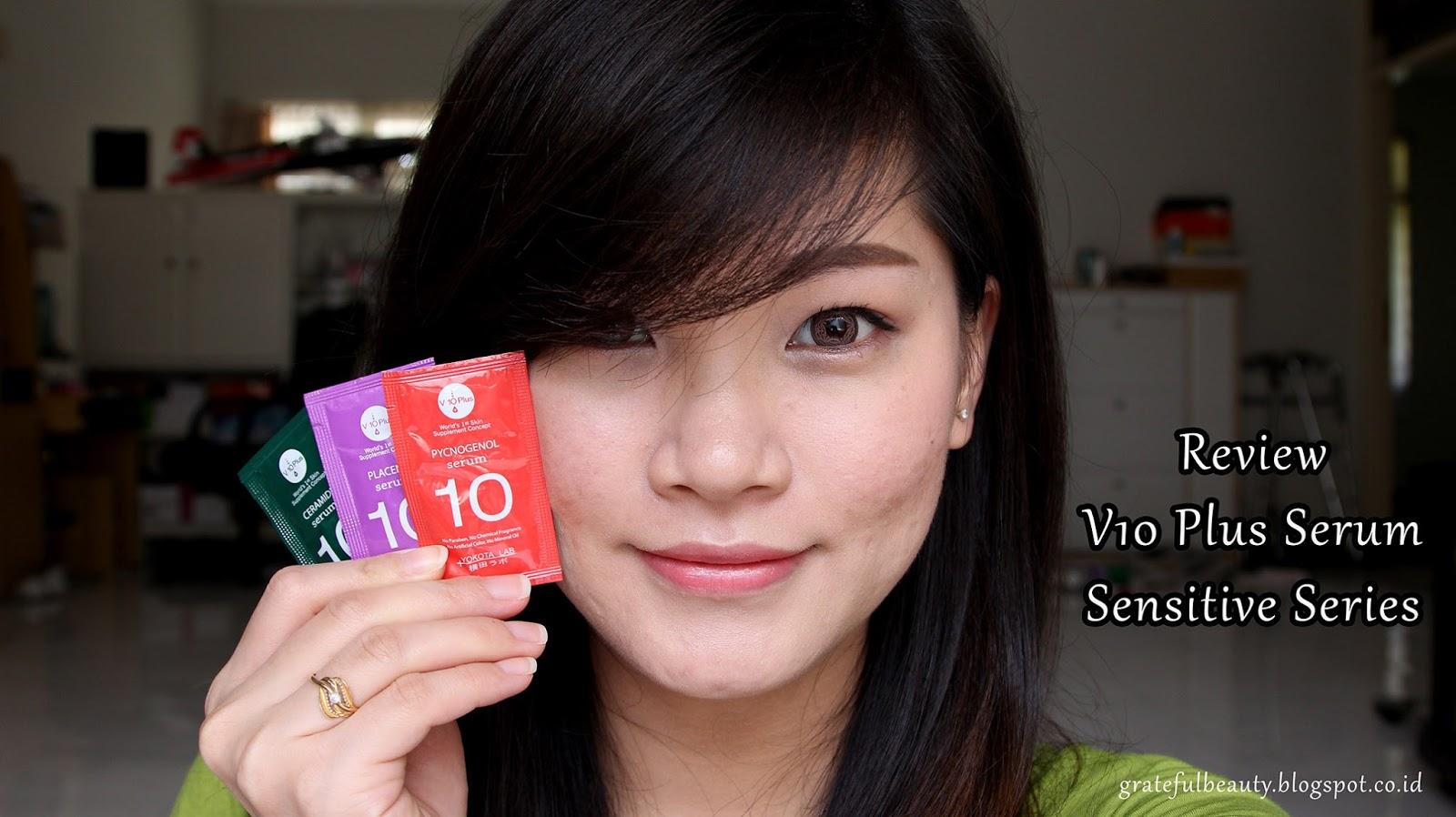 Sponsored Review V10 Plus Serum Sensitive Skin Series Kornelia