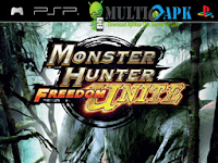 Monster Hunter Freedom Unite PPSSPP High Compress