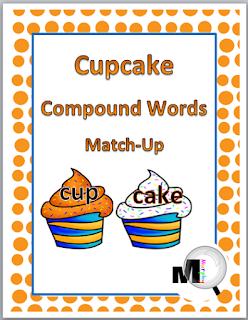 https://www.teacherspayteachers.com/Product/Compound-Words-Match-Up-Activity-Cupcake-Theme-346846