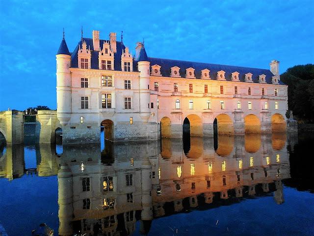 vackraste slott i Frankrike