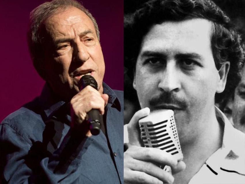 """Cuando Perales cantó 15 veces  en una narcofiesta '¿Y cómo es él?' para """"El Patron del Mal"""",  Pablo Escobar"""