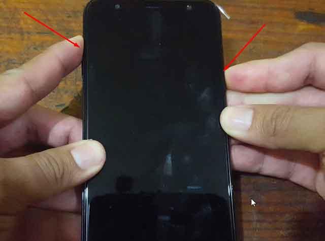 menú recovery Samsung Galaxy J4 plus