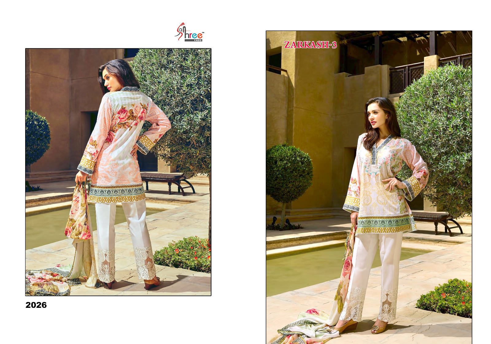 aacd4206df Indian Suits Wholesaler: READY SHREE FABS ZARKASH VOL 3