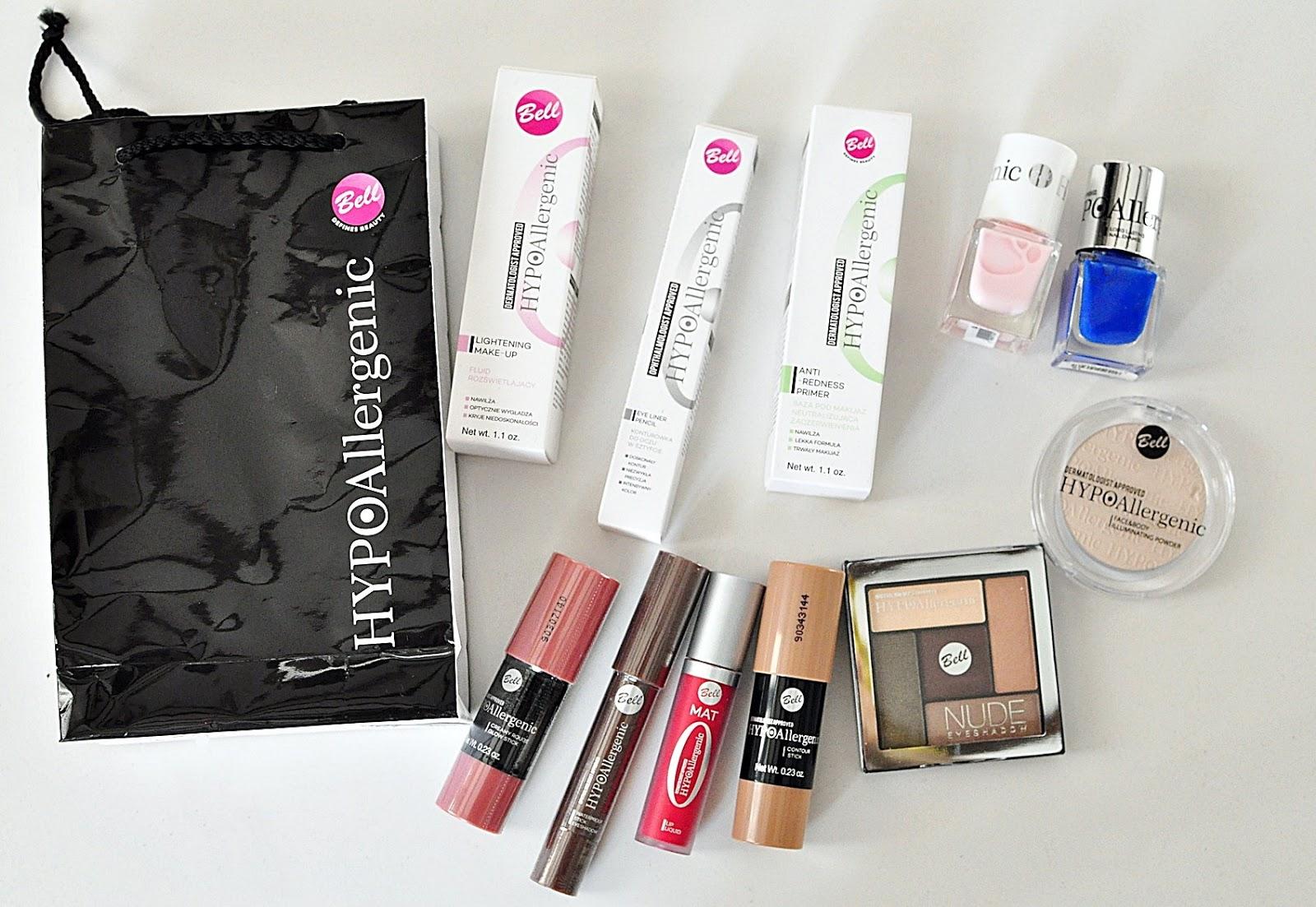 kosmetyki-Bell_szybki-makijaż_tanie-kosmetyki