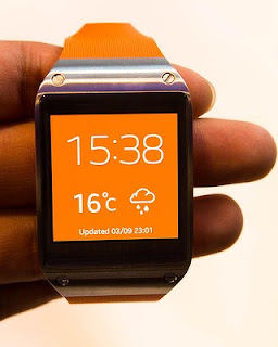 Samsung Galaxy Gear orange Smartwatch