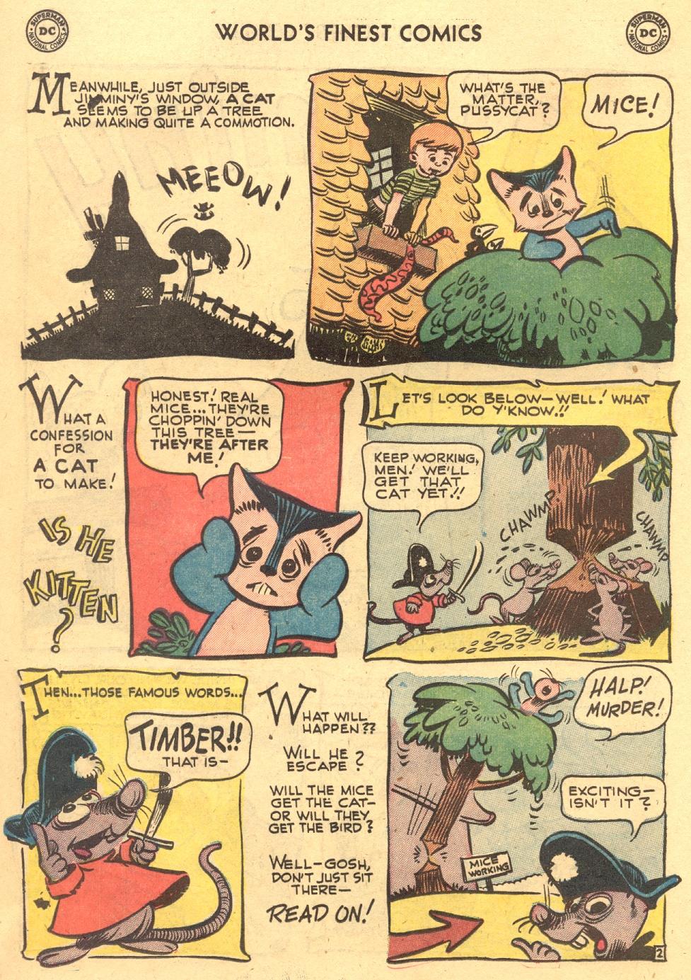 Read online World's Finest Comics comic -  Issue #70 - 34