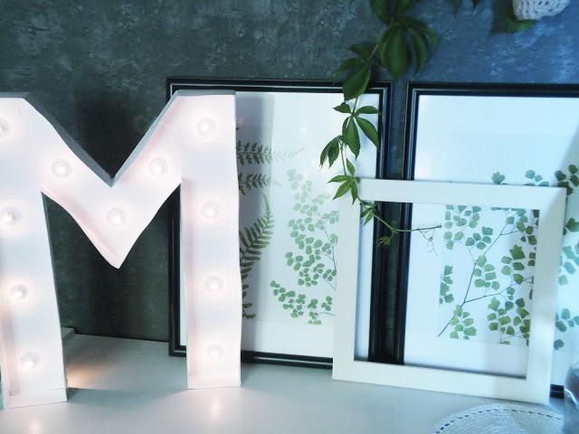 light letter DIY