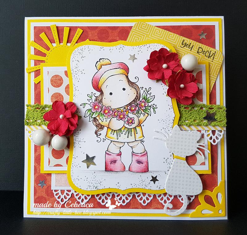 My Little World Birthday Card For A Dear Friend