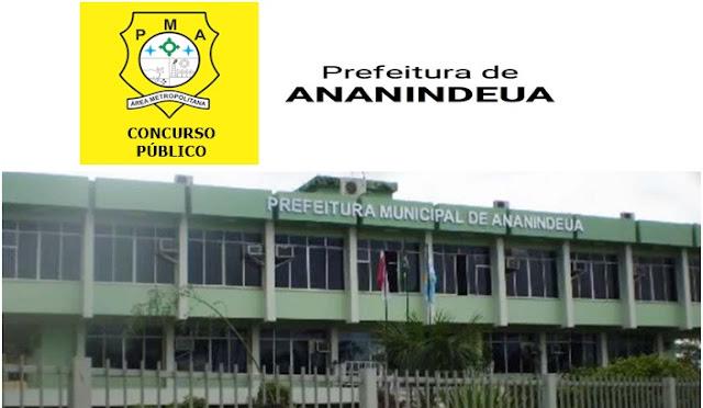 Concurso Prefeitura de Ananindeua (APOSTILAS)