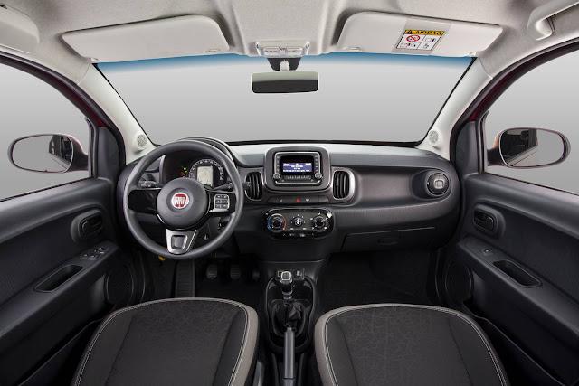 Fiat Mobi - interior - painel