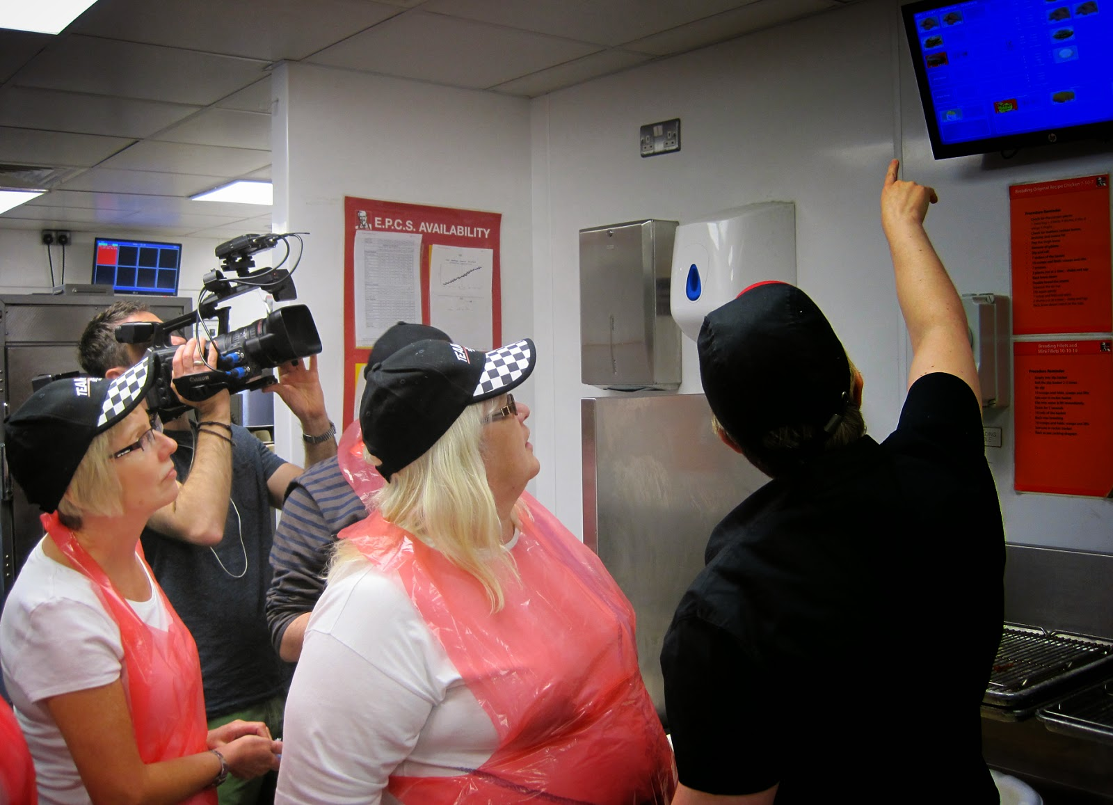 Behind the Scenes at KFC with The BBC Filming