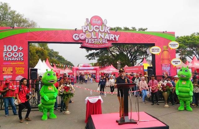 Sutiaji membuka Pucuk Coolinary Festival - Kuliner Terbaik Pucuk Coolinary Festival Malang 2018