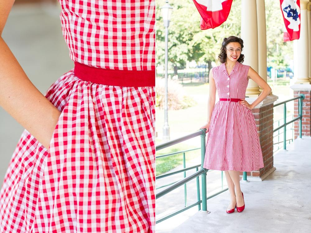7ab635709c4 Mode de Lis  · A Gingham Dress for Kathryn ·