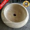 Wastafel marmer tulungagung donat asli batu alam diameter 40 cm