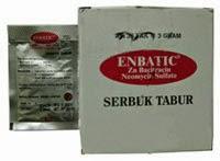 Enbatic : Bacitracin Zinc dan Neomycin Sulfate
