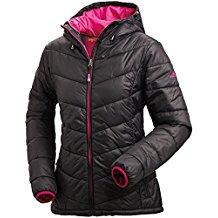 Nordcap Damen Jacke in Daunenoptik, warme Steppjacke in Schwarz, tolle Übergangs- & Winterjacke, 100% Wattierung (Gr: 36 - 50)