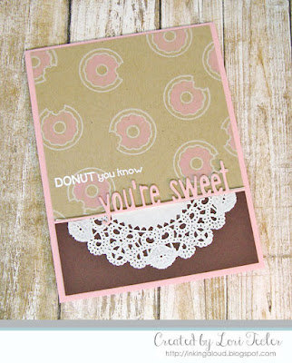 Donut You Know card-designed by Lori Tecler/Inking Aloud-stamps and dies from Lawn Fawn