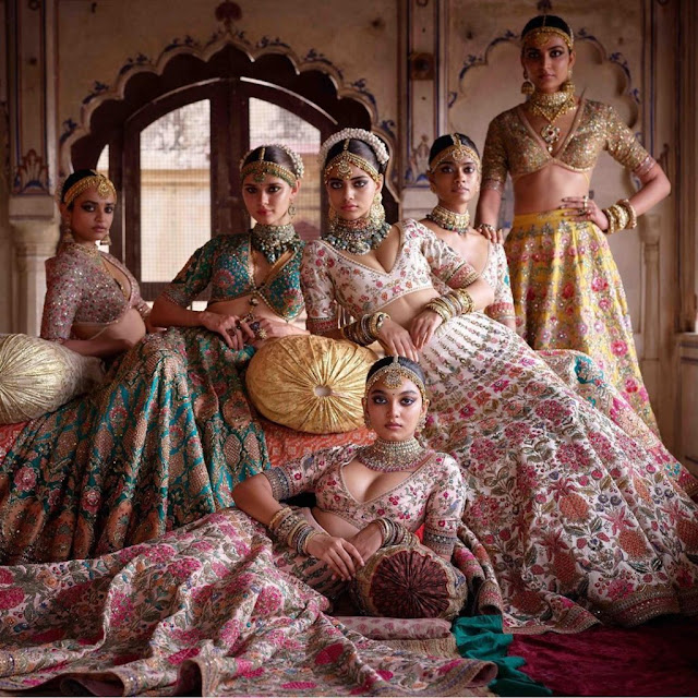 Sabyasachi Mukherjee Bridal Lehenga Collection 2020