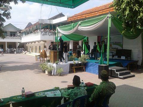Pesta Demokrasi Siswa MA Tabah