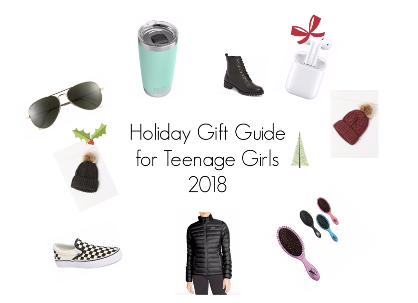 Holiday Gift Guide for Teenage Girls 2018