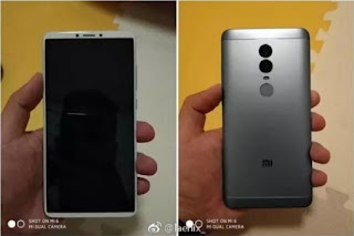 Xiaomi Redmi Note 5, This Reveals 18: 9 Full-Screen Design and Dual-Camera Setup