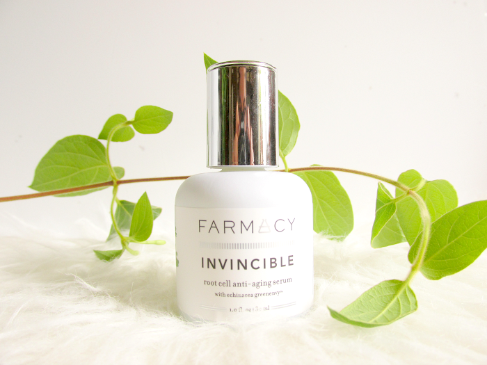Review: Farmacy - Invincible Root Cell Anti-Aging Serum with green envy echinacea extract