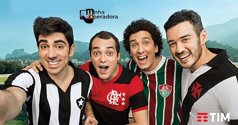 9b99ad1c76 TIM renova patrocínio com os quatro grandes clubes cariocas - Minha ...