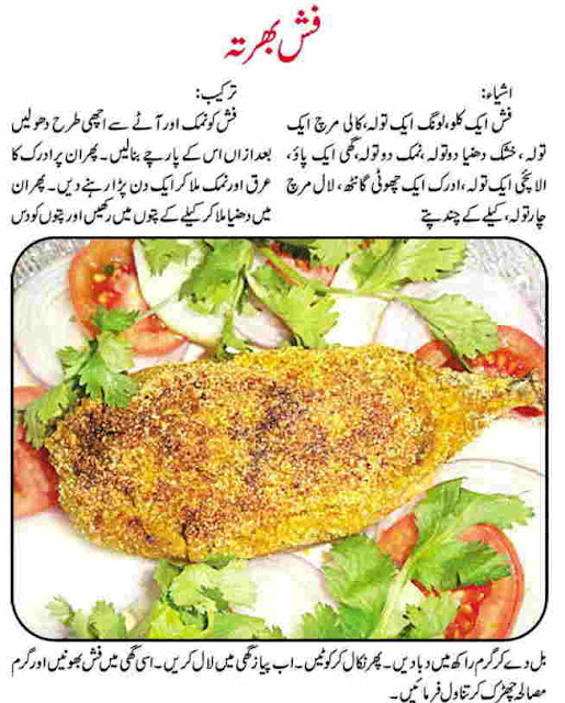 Fish Recipes Urdu