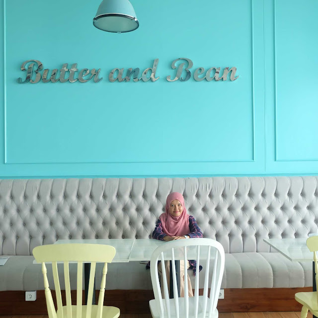 Butter and beans, caffee butter and beans, marvell city, cafe surabaya
