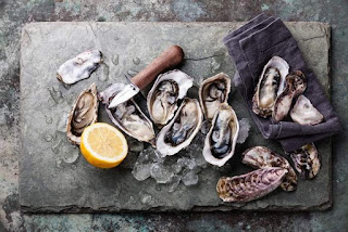 tiram, oysters, how to get beautiful skin, kacang brazil cantikkan kulit, beauty skin, beautiful skin, makanan untuk cantikkan kulit, makanan laut cantikkan kulit