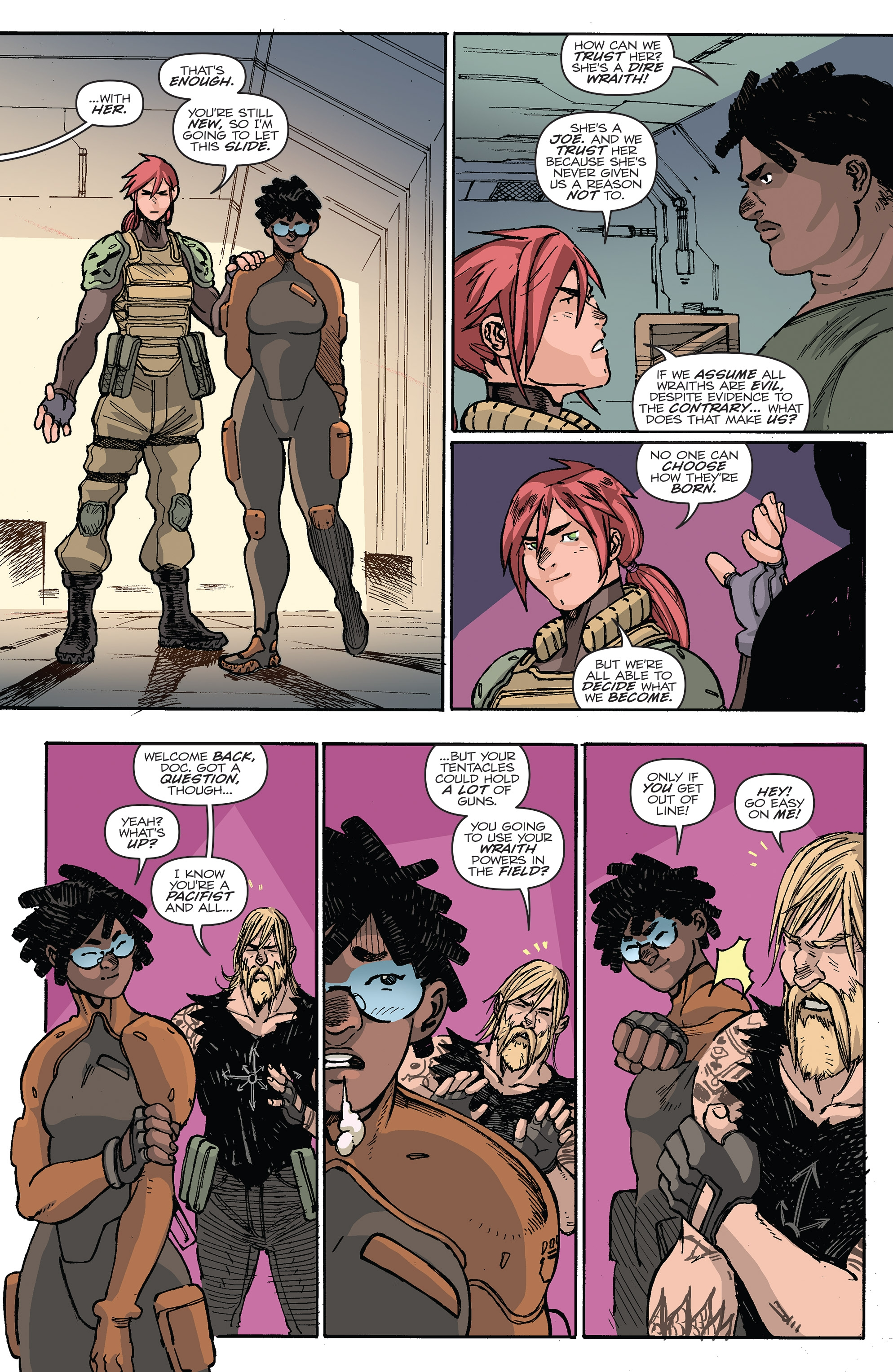 Read online G.I. Joe (2016) comic -  Issue #6 - 10