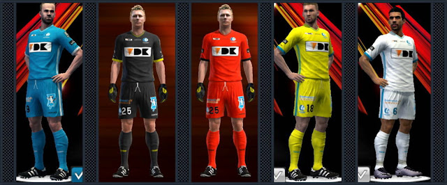 PES 2013 KAA Gent Kit Season 2016-2017