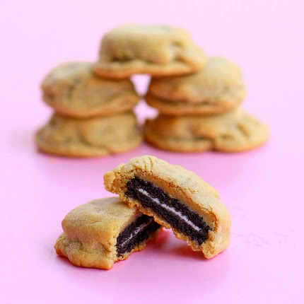 http://www.the-girl-who-ate-everything.com/2011/08/oreo-stuffed-peanut-butter-cookies.html