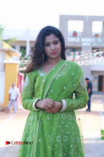 Actress Manaali Rathod Latest Pictures in Green Dress  0097.JPG