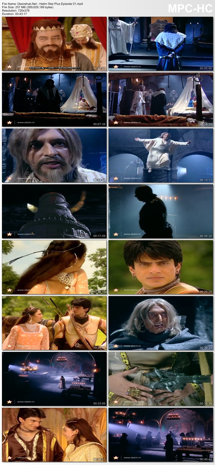 Hatim (Star Plus) [Episode 1] 480p HDRip 250MB | DesireHub