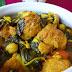 Potaje de garbanzos y espinacas con panecillos de bacalao | Receta de Andújar