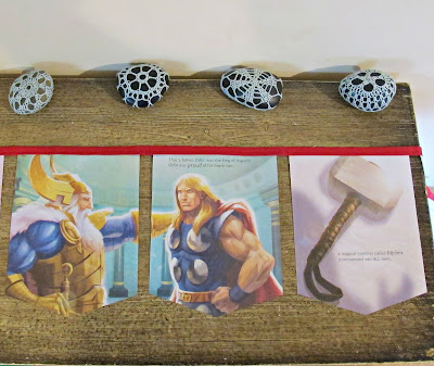 image thor bunting avengers asgard domum vindemia for children superhero etsy