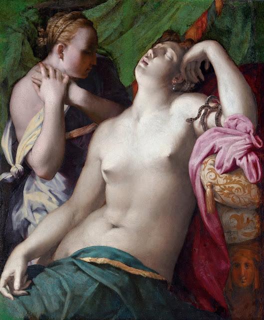 Rosso Fiorentino: Cleopatra morente