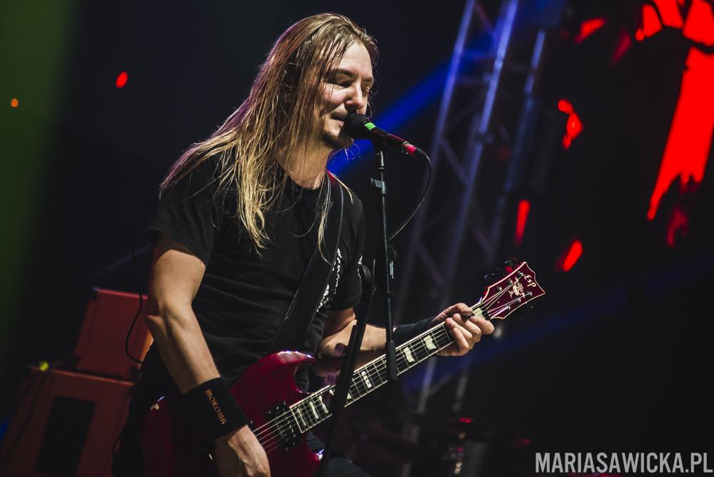 Tuomo Saikkonen Mokoma Sakara Tour 2016 Espoo esp guitars