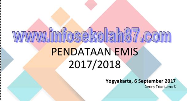 Update!!! Rencana Pengembangan Emis 2017/2018