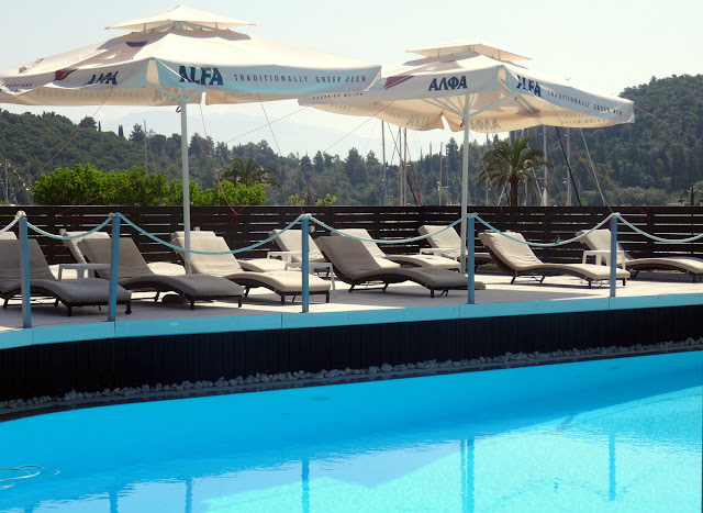 Poolside Armonia Boutique Hotel in Nidri, Lefkada, Greece