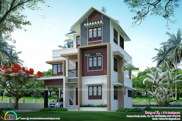 House Plans In Small Plots Kerala