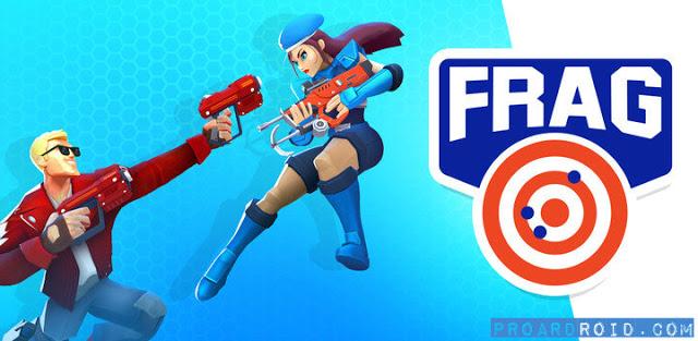 تحميل لعبة الاكشن والقتال FRAG Pro Shooter النسخة المهكرة للاندرويد