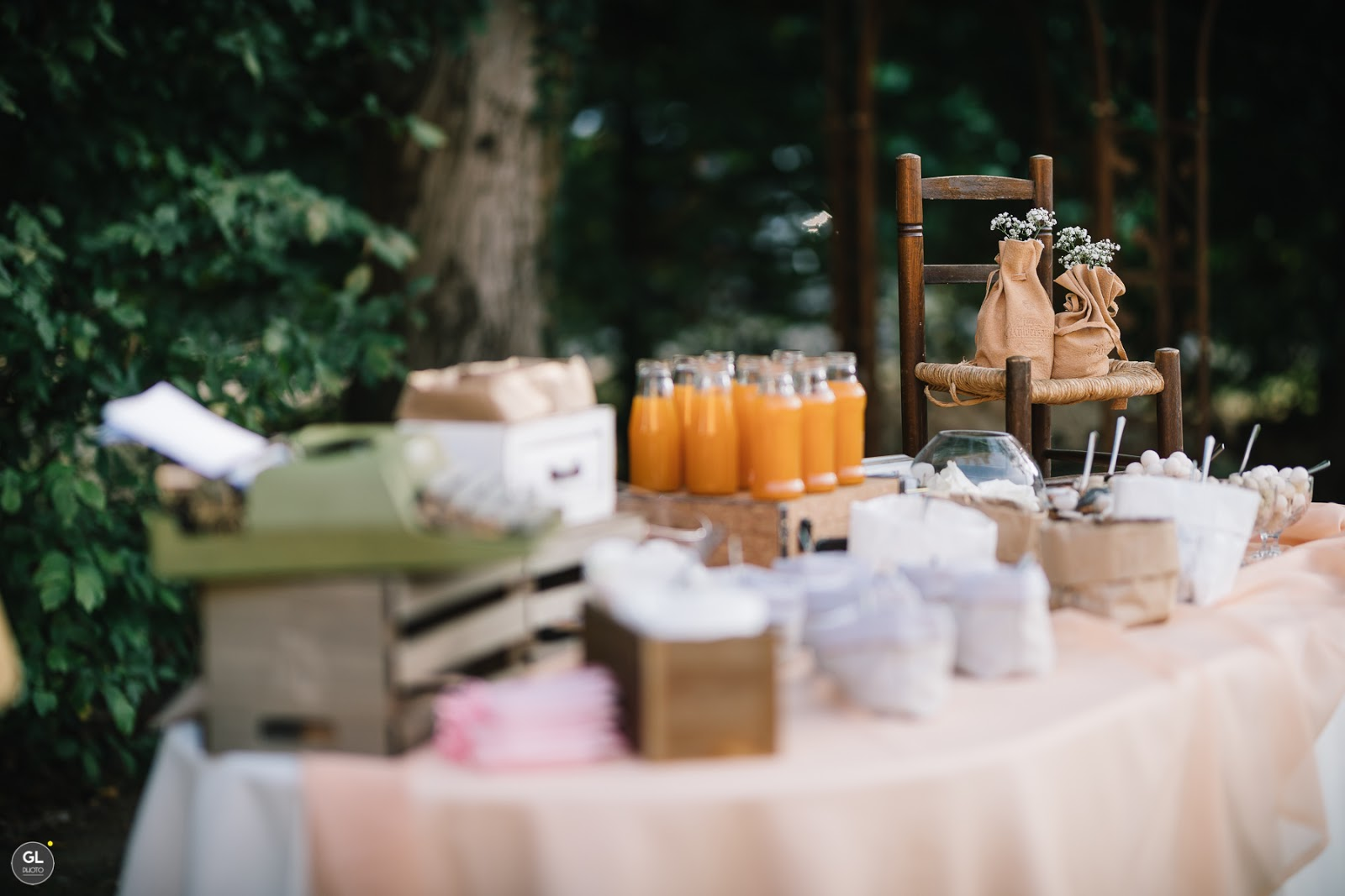 Come allestire una sweet table in stile rustico